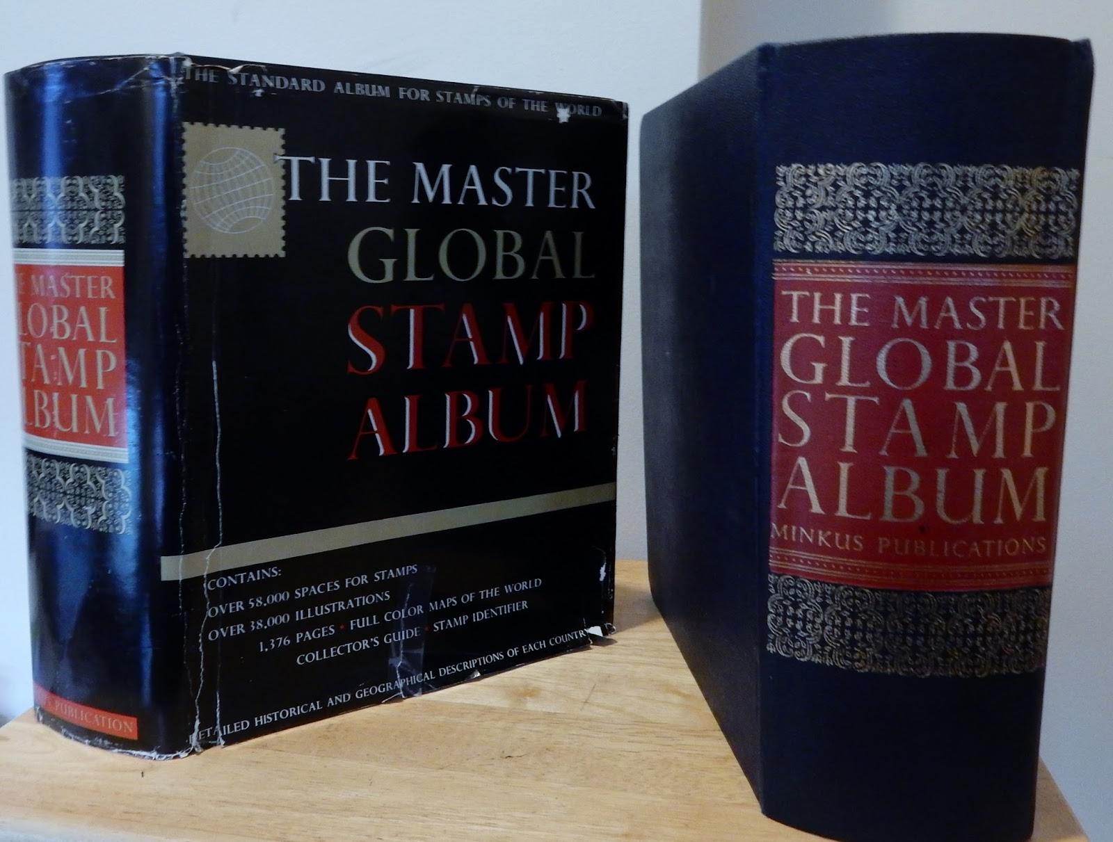 Big Blue 1840-1940: The Minkus Master Global Stamp Album: a