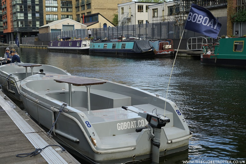 GoBoat London - Electric Canal Boat Hire