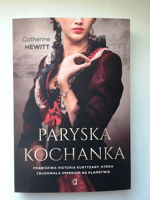 """Recenzja #99 - """"Paryska kochanka"""" - okładka książki pt. """"Paryska kochanka"""" - Francuski przy kawie"""