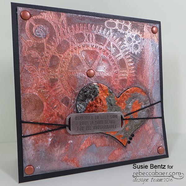 Steampunk Heart With Rebecca Baer Designs