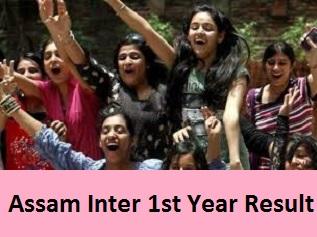 Assam Inter 1st Year Result 2017