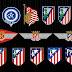 Atlético terá novo escudo e novo estádio