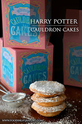 Cauldron Cakes - 13 Vegan Harry Potter Recipes RoundUp