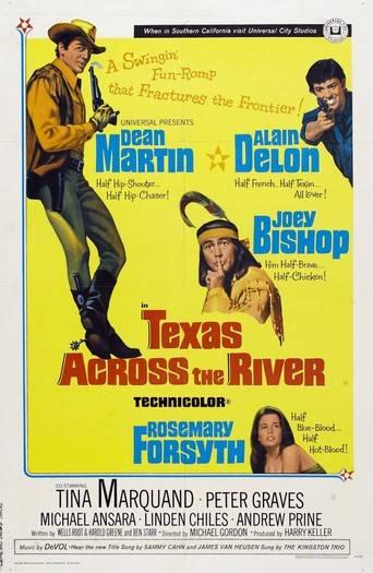 Texas Across the River (1966) ταινιες online seires oipeirates greek subs