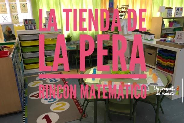 Propuesta organización rincón matemático en Infantil
