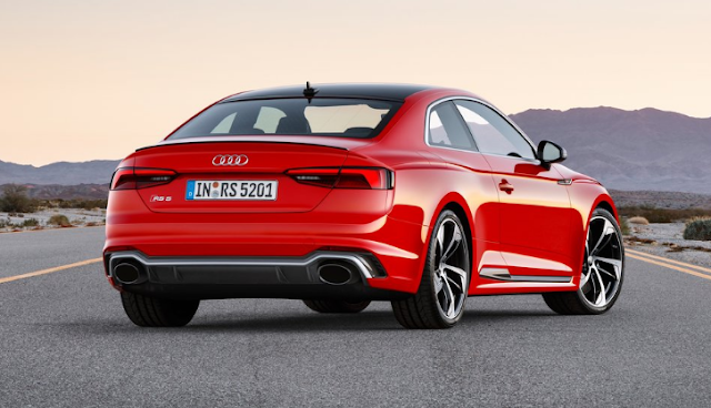 2018 Audi RS5 Coupe Back