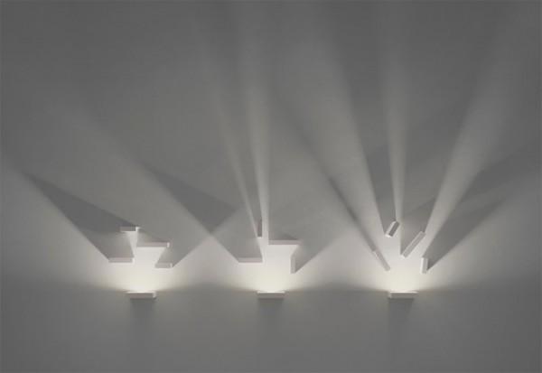 ديكور اضاءة جدارية