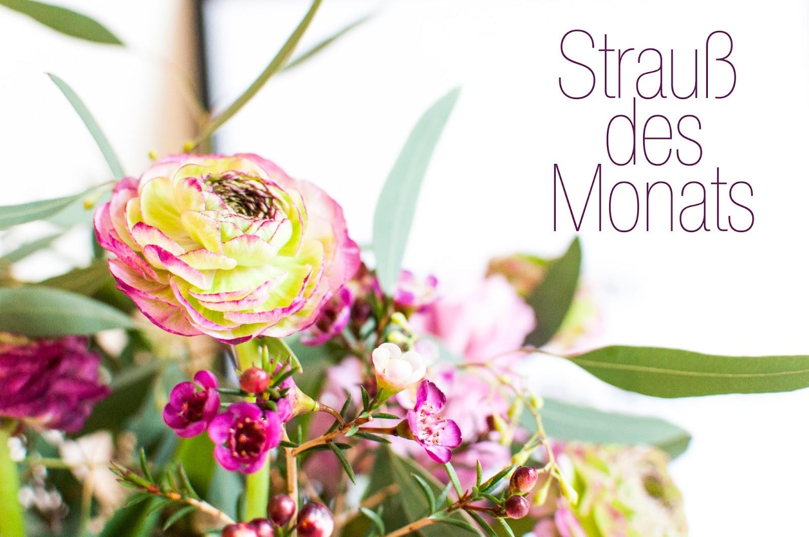 Blumen im märz  Dicke W & Goldmarie : Strauß des Monats - März