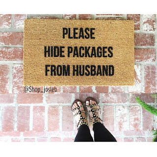 hide packages doormat