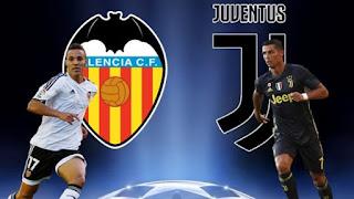 مشاهدة مباراة يوفنتوس وفالنسيا بث مباشر اليوم 19-9-2018 Juventus vs Valencia Live دوري أبطال أوروبا