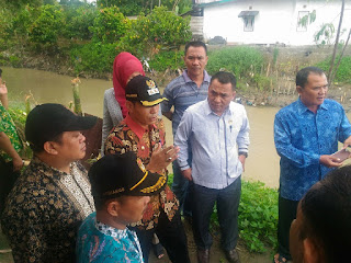Wabup dan DPRD Provinsi Jambi Tinjau Kawasan Rawan Bencana di Kerinci