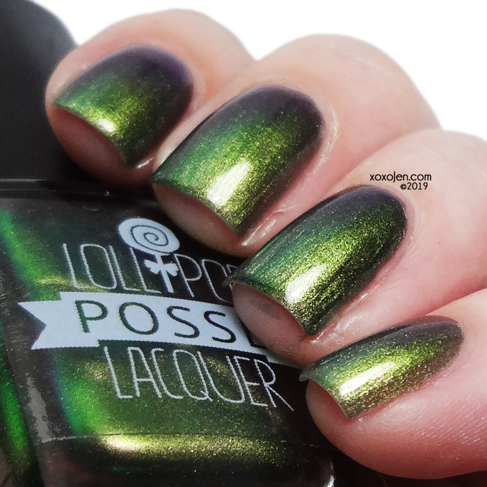 xoxoJen's swatch of Lollipop Posse The World