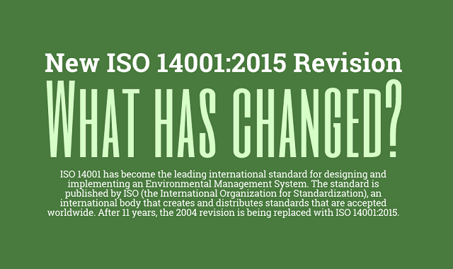 ISO 14001:2015 vs. 2004 Revision – What has Changed?