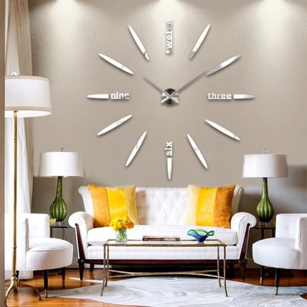 часы настенные для гостиной фото