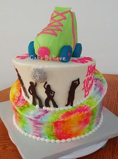 Cake Believe Roller Disco Party