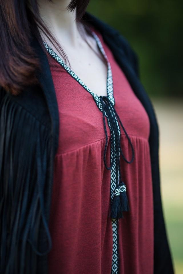 sukienka etno