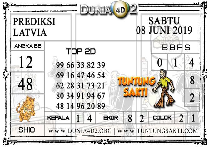 """Prediksi Togel """"LATVIA"""" DUNIA4D2 08 JUNI 2019"""