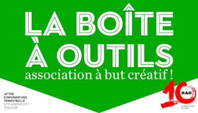 Lettre d'information de l'association La Boîte à Outils