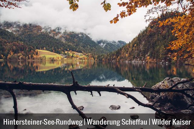 Hintersteiner-See-Rundweg  Wanderung Scheffau  Wilder Kaiser  Wandern Kitzbüheler alpen Tirol  Leichte Tour in traumhafter Kulisse 01