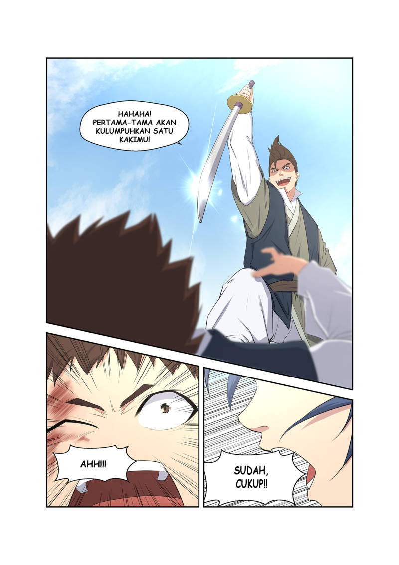 Heaven Defying Sword Bahasa Indonesia Chapter 09
