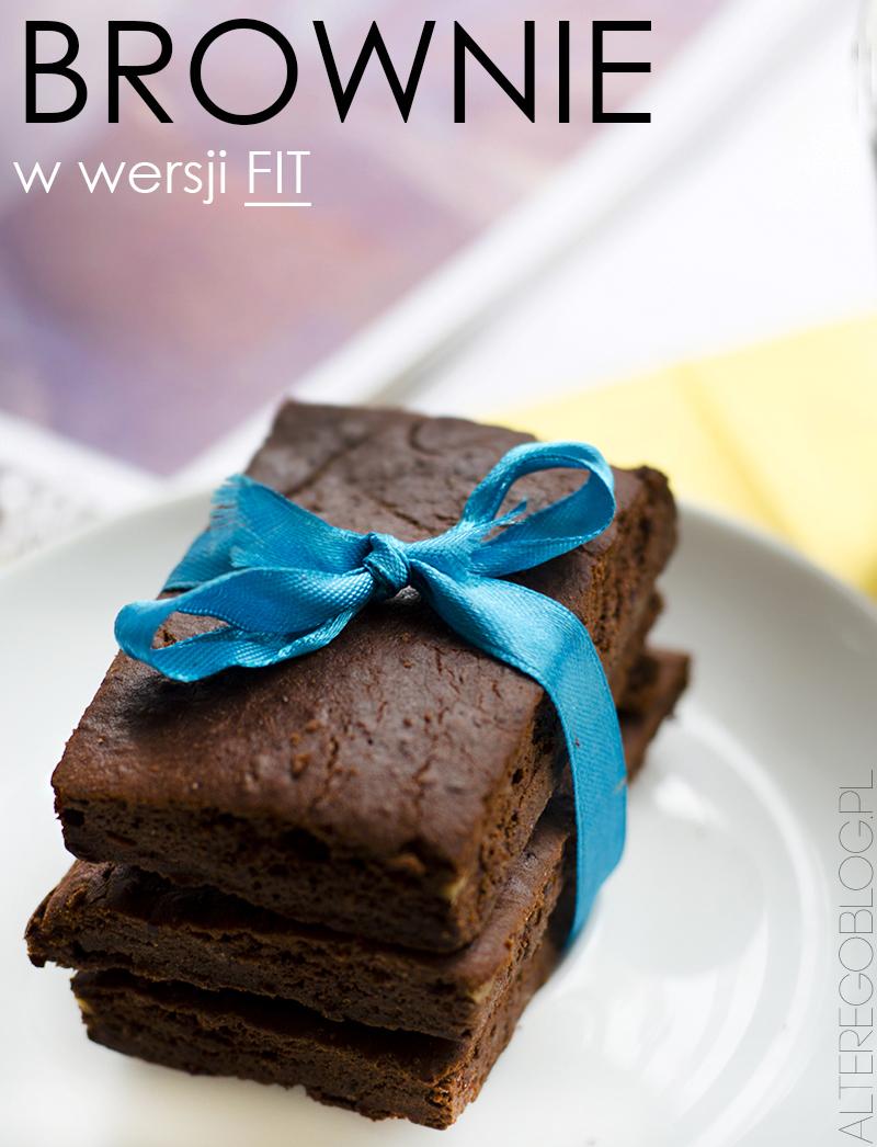 fit brownie, przepis na fit brownie, fit ciasto, ciasto bez maki i cukru