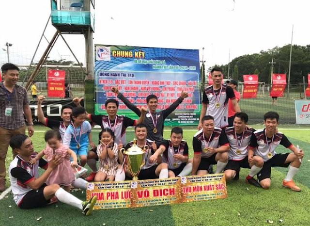 Việt Thắng lần đầu lên ngôi vô địch giải bóng đá ngành Thép. Họ nhận mức thưởng 27 triệu đồng từ BTC