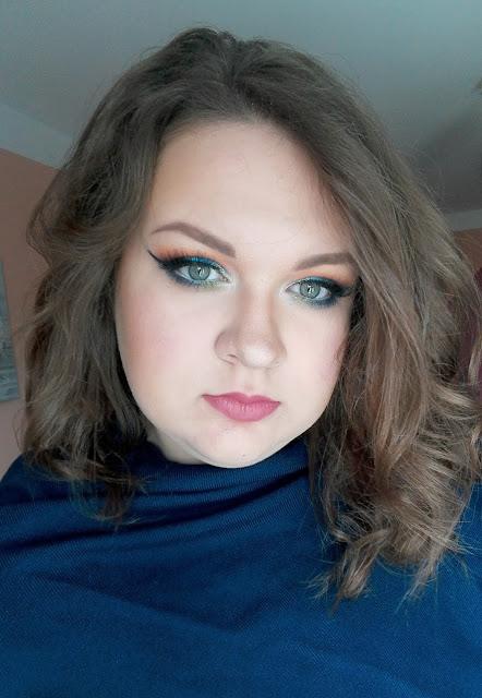 Kolorowy makijaż + nowości kosmetyczne w akcji: Bourjois City Radiance, Eveline, Catrice, Wibo, Inglot, Kobo, Maybelline