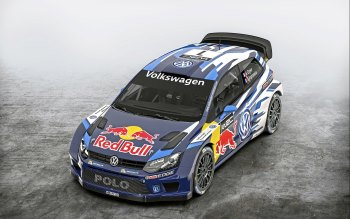 Wallpaper: Volkswagen Polo R WRC 2015
