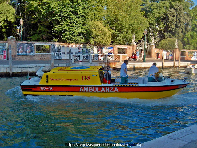 Ambulância, Veneza
