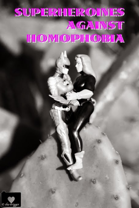 superheroines against homophobia