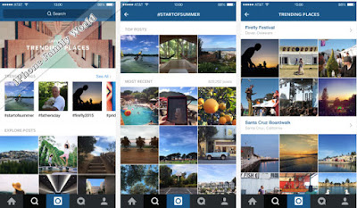 Instagram improves Search | iPhone Family World | iPhone Family