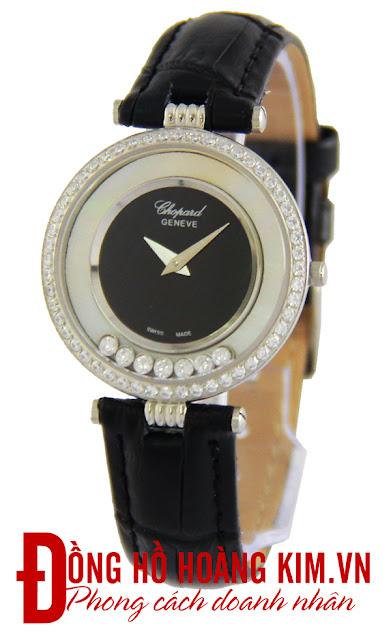 Đồng hồ nữ dây da giá rẻ dưới 2 triệu Chopard