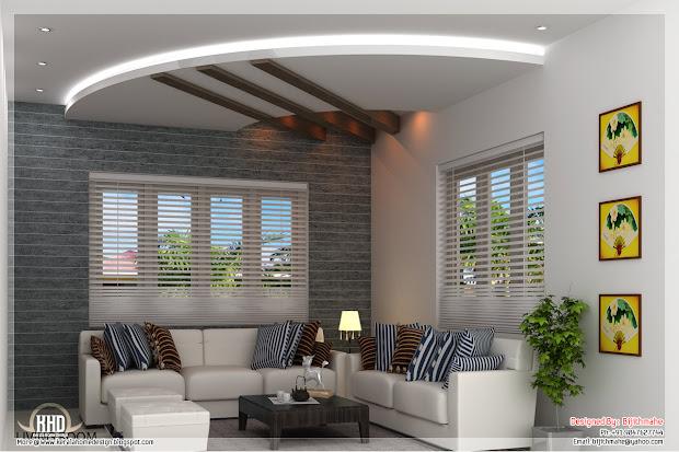 Kerala Style Living Room Designs