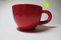 Tasse: Porzellan Teekannenservice von Original First Tea (Rot)
