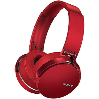 Sony Red headphone