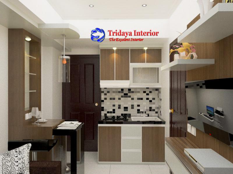 Cv Tridaya Interior Interior Design Apartemen Green Park View 2 Bedroom