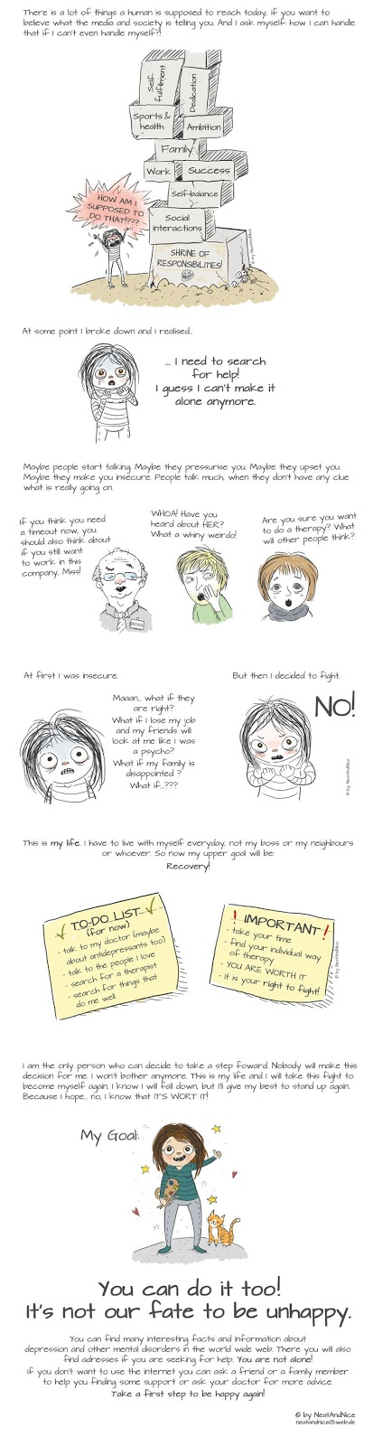 I Created This Infographic About Depression To Show You're Not Alone