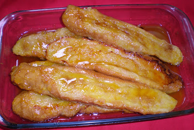 TORRIJAS AL HORNO receta baja en calorias light dulce semana santa pan