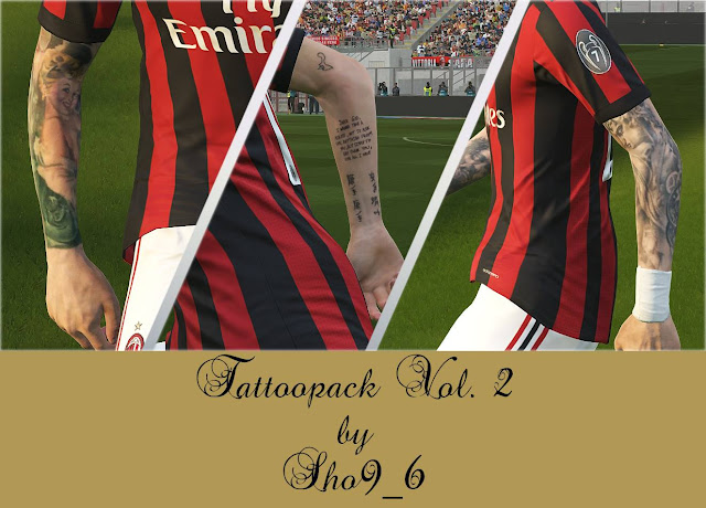 PES 2018 Tattoo Pack V2 dari Sho9_6