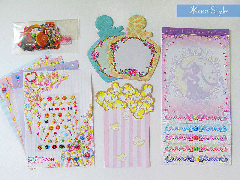 Koori KooriStyle Kawaii Cute Planner Stationery Goods Goodies Agenda Journal Washi Deco Tape Sticky Note Notes Stickers Happy Snail Mail Swap PenPal Letter Sailor Moon Pastel Japan Mexico