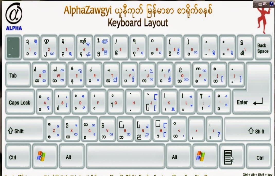 Zawgyi One Font Download