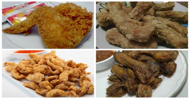 Membatasi Konsumsi Bagian tubuh Ayam