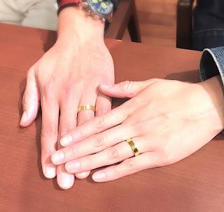 銀座ジュエリーサロンでマリッジリング(結婚指輪)をオーダー。