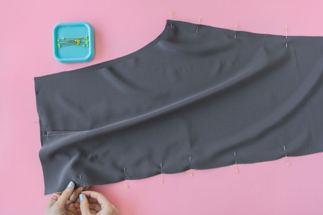 How to sew trouser legs - Tilly and the Buttons