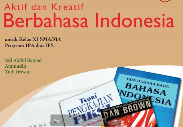 Buku BSE SMA Kelas XI Mapel B IndonesiaKelas XI Lengkap Buku BSE SMA Kelas XI Mapel B Indonesia