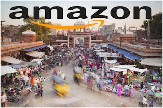 Amazon تسعى لانشاء متاجر في الهند لزيادة انتشارها في سوق التجارة الالكترونية