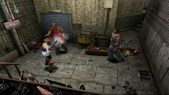 Resident Evil 3: Nemesis PS1 Gameplay