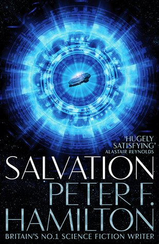 Cover for Salvation by Peter F Hamilton
