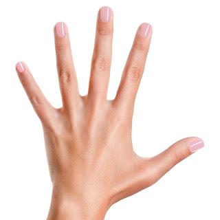 شكل مناكير بيقي على اليد