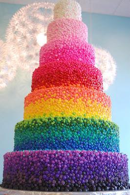 Fotos inspiradas en el arco iris.